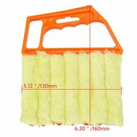 Microfiber Blinds Cleaning Brush Air Conditioner Duster Cleaning Brush Washing Windows Car Air Outlet Cleaning Tools TSLM1 5
