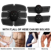 EMS Arm Muscle abdominal Stimulator Women Hip Trainer ABS Fitness Butt Lifting Buttock Toner Trainer Slimming Massager Unisex