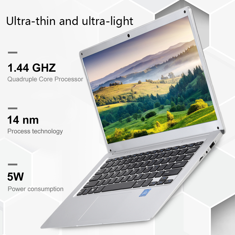 Image 4 - 14.1 Inch Laptop 2GB RAM 32GB Student Notebook Intel Atom X5 Z8350 Quad Core Windows 10  Notebook BT4.0 with HDMI Port-in Laptops from Computer & Office