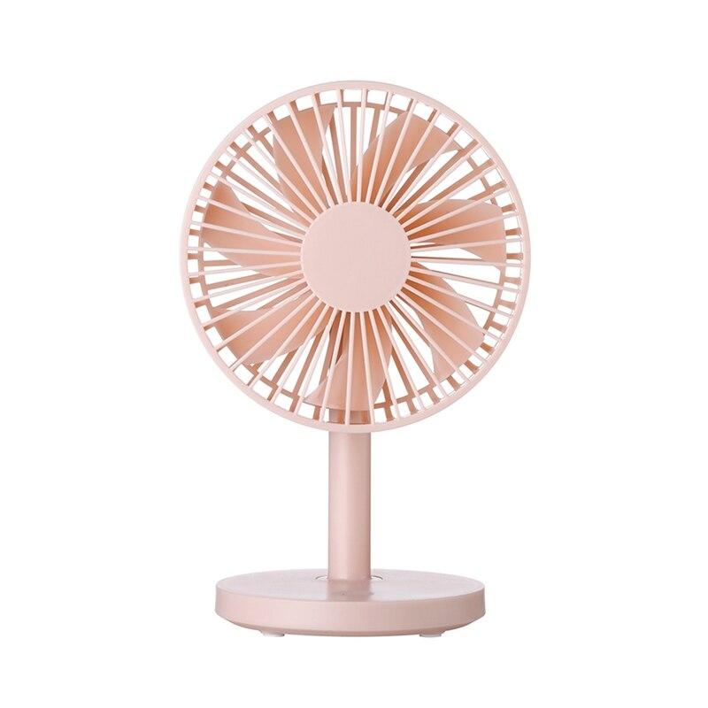 Protable Desktop Fan USB Mini Electric Fan Table Fan 3 Speed Wind Adjustable Fans     - title=