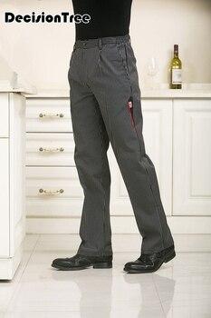 2020 señoras camareros negros usar uniformes de trabajo mujer mejor chef pantalones hotel restaurante cocina Pantalones