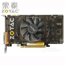 100% zotac placas gráficas geforce GTX550Ti-1GD5 gddr5 192bit placa de vídeo para nvidia gtx 500 mapa gtx 550 ti 1gd5 dvi vga usado