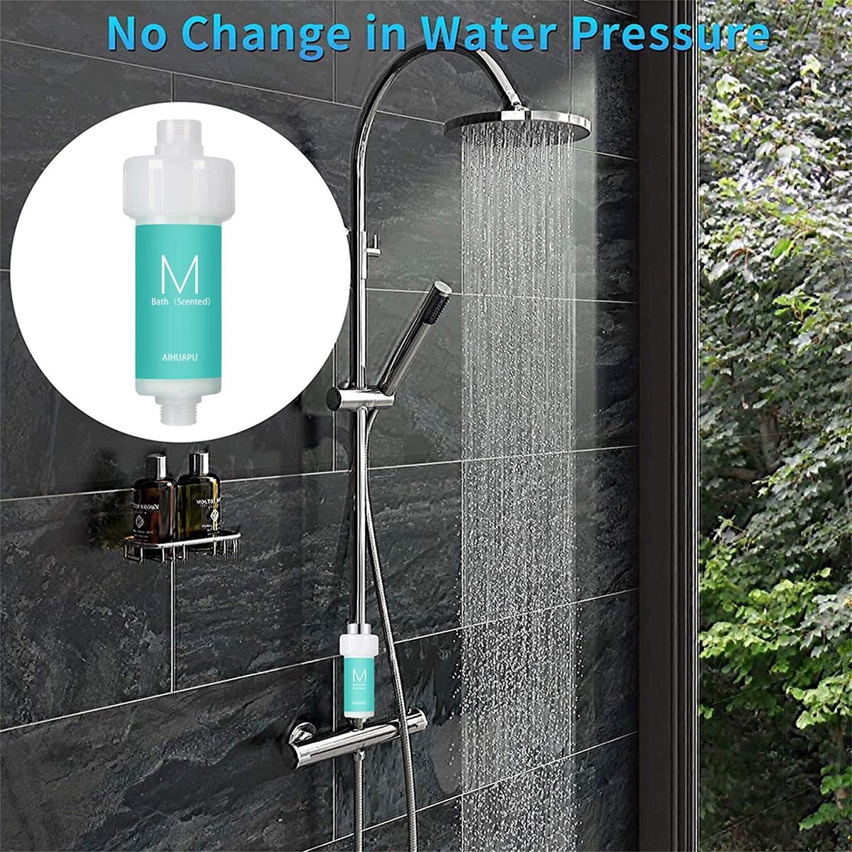 Ванная комната Душ фильтр для трав аромата спа купальный воды