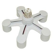 B22 для e27 База Светодиодный светильник лампы адаптер гнезд