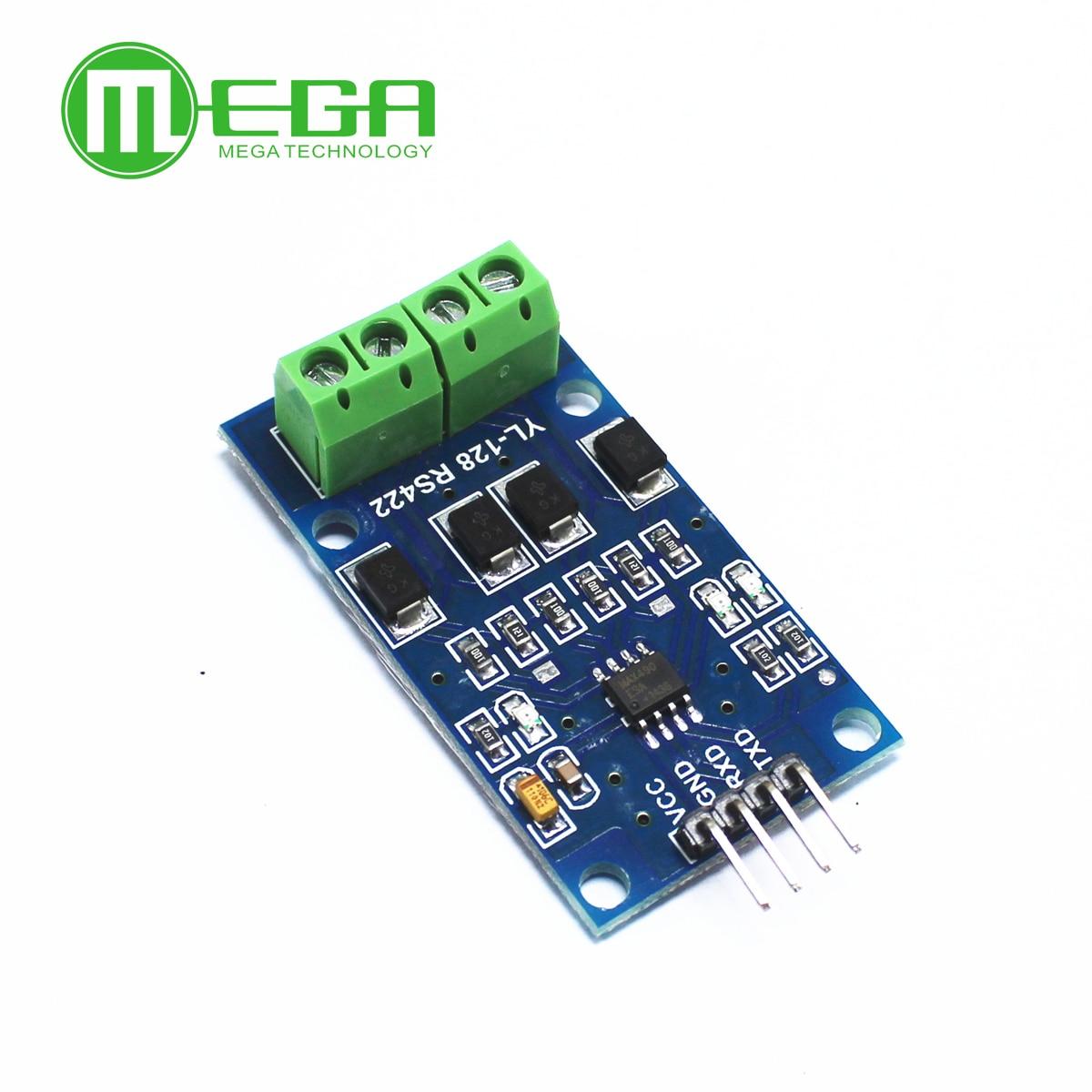 10 stücke RS422 modul transfers zwischen TTL bidirektional signale Volle duplex 422 drehen mikrocontroller MAX490 TTL modul