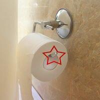 Soporte de papel higiénico de baño de acero inoxidable soporte de rollo de papel de succión soporte de rollo de papel autoadhesivo de acero inoxidable