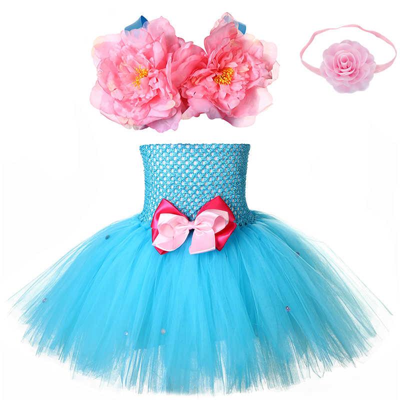 ハロウィーンの少女マーメイドチュチュドレスプリンセスアリエル魚の尾の人魚テーマ誕生日カーニバルパーティのロールプレイドレス衣装衣装