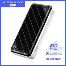 Battery Bank 20000 Fast Power Bank 20000mah For Xiaomi Redmi Smartphone Powerbank External Battery Pack Qc3.0 PD 20W Powerbank