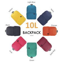 Original mi 10L Backpack Bag 8 Colors Level 4 Water Repellent 165g Weight YKK Zip Outdoor Chest Pack For Mens Women Travel C
