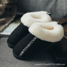 Women Winter Warm Ful Slippers Women Slippers Cotton Sheep Lovers Home Slippers Indoor Plush Size House Shoes Woman Wholesale 46 women winter warm ful shoes house woman slippers cotton sheep lovers home slippers indoor plush size house shoes woman wholesale