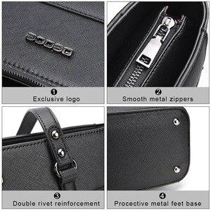Image 5 - ABDB OSOCE Briefcase 15.6 Inch Laptop Bag Waterproof Handbag Protective Bag Laptop Tote Case Shoulder Bag Office Bags for Women