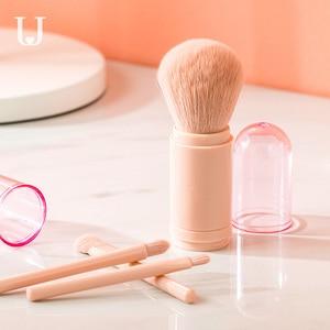 Image 2 - Youpin jordanjudy pinceau de maquillage télescopique pinceau de maquillage Portable pinceau correcteur débutant pinceau fard à paupières