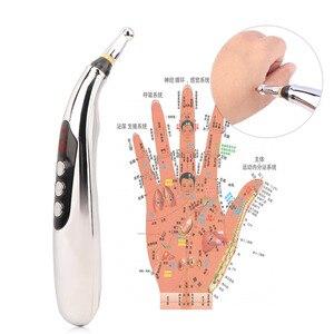 Image 5 - ボディマッサージペン3 1で鍼ペン子午線エネルギーペン疼痛緩和ポイント検出器デバイス健康レーザー治療マッサージ銃