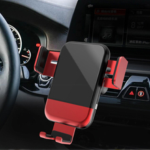 Cong Fee Wireless Charger Intelligent Infrared QI support Gravity Sensor car Mobile Phone Holder Auto-locked Car