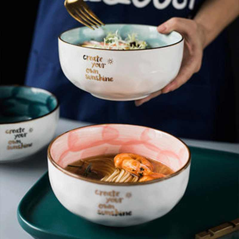 Yıldız serisi seramik kase meyve salatası tepsisi sevimli erişte kasesi rüya bankası bölümü tema restoran servis kasesi 2019 moda