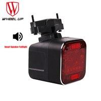Wiel Up Bluetooth Luidspreker Fiets Lichten Usb Oplaadbare 2200Mah Led Light Waterdichte Mtb Bike Licht Smart Speaker Achterlicht