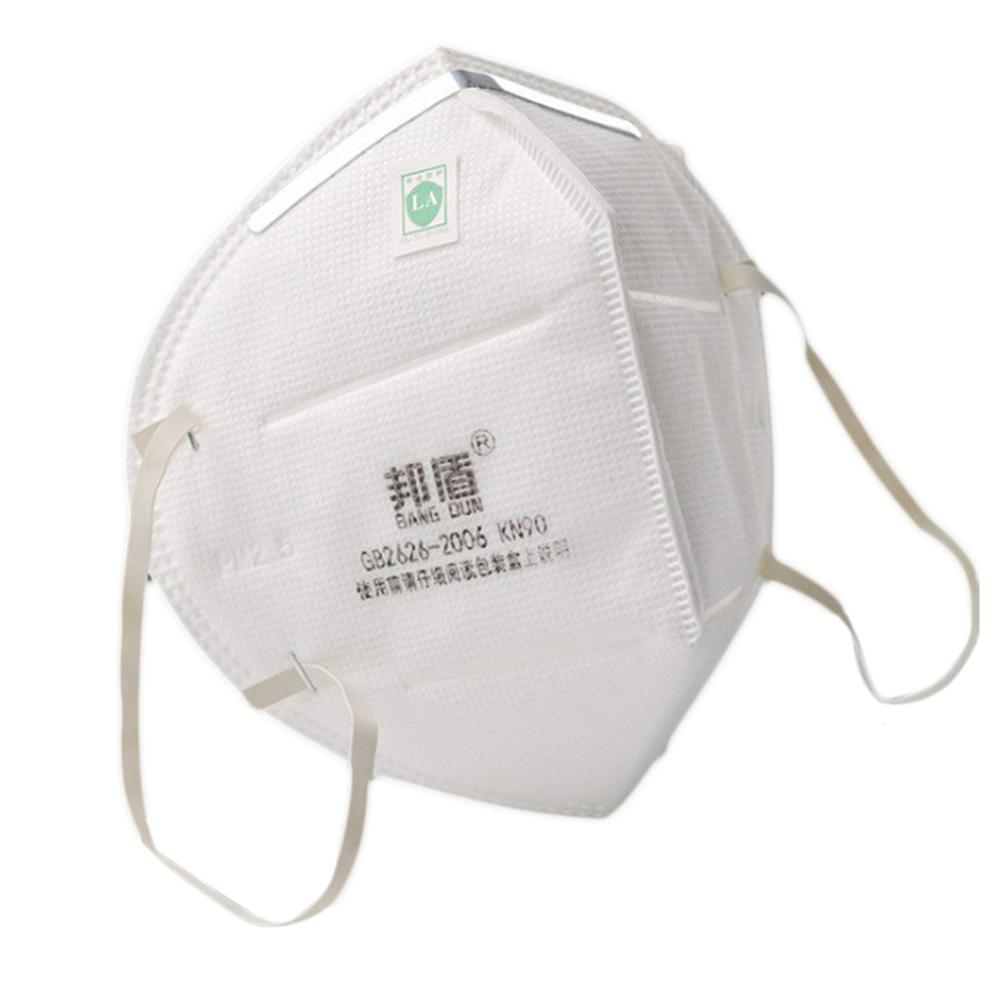 Unisex Industrial Style Disposable Non-Woven Mouth Mask 5 Layer Filter Insert PM2.5 Anti Pollution Earloop/Head-Mounted