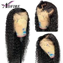150% Density Water Wave Indian Remy 13X6 Lace Front Human Hair Wigs With Baby Hair Bleached Knots Pre Plucked For Black Woman