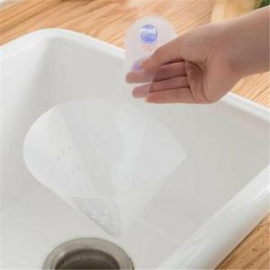Image 4 - Novo auto standing rolha cozinha anti bloqueio dispositivo dobrável filtro simples pia reciclável filtro de drenagem dobrável
