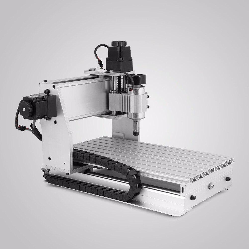 CNC Stecher Maschine sicherheit Router Drehachse Gravur Maschine 3-Backenfutter 4TH-Axis Schwanz Lager Hohlwelle langlebig