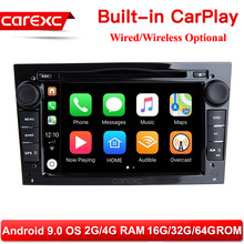 CarExc Android 9.0 With CarPlay Car Radio DVD Player GPS for OPEL Vauxhall Antara Corsa D 2006 2007 2008 2009 2010 2011/Vivaro(China)