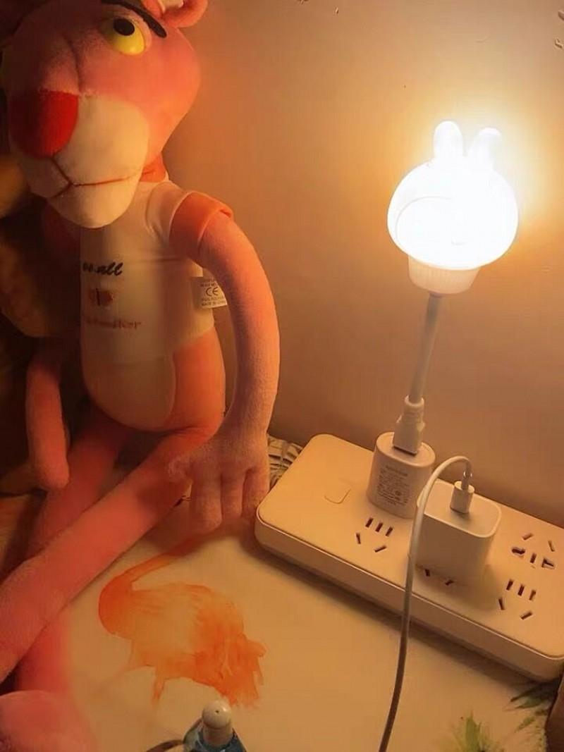 bebê decoração da noite luz noite lactação lâmpada cabeceira
