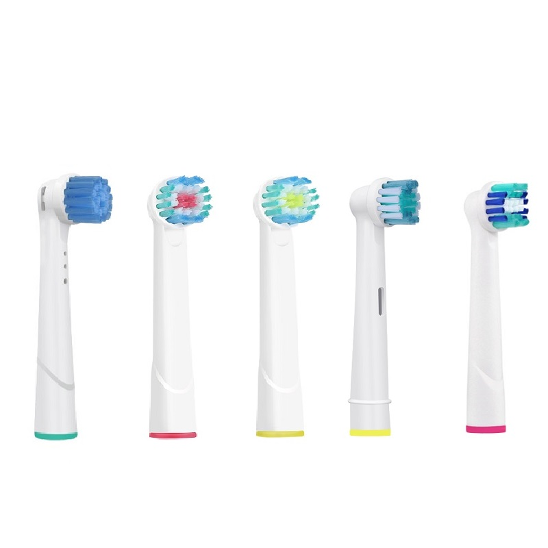 4PCS Replacement Toothbrush Heads For Oral-B Braun EB17 EB20 Precision Bristle Professional Electric Toothbrush Heads