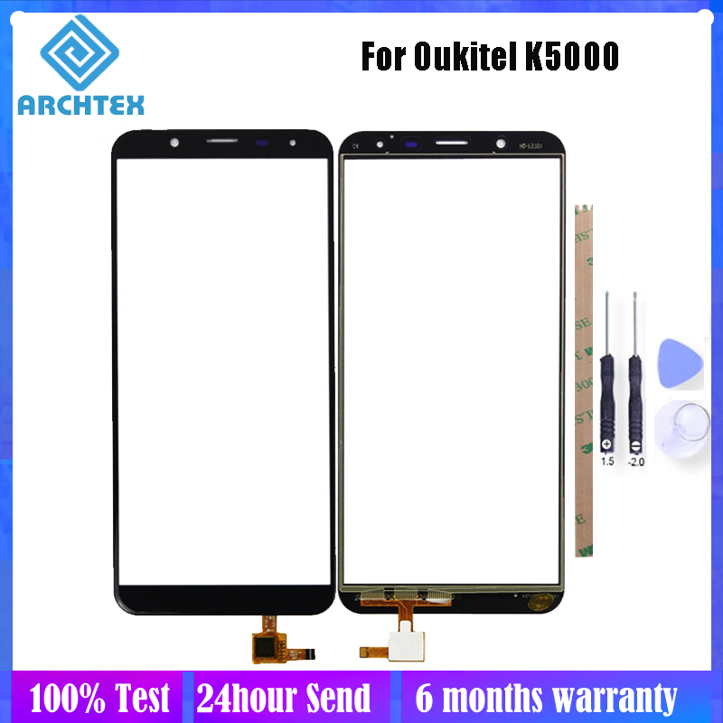 For <font><b>Oukitel</b></font> <font><b>K5000</b></font> Touch <font><b>Screen</b></font> Panel Perfect Repair Parts Glass With Digitizer Sensor Replacement Tools image