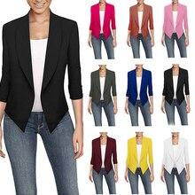 Autumn Women Slim Fit Casual Ladies Blazer Business Suit Out