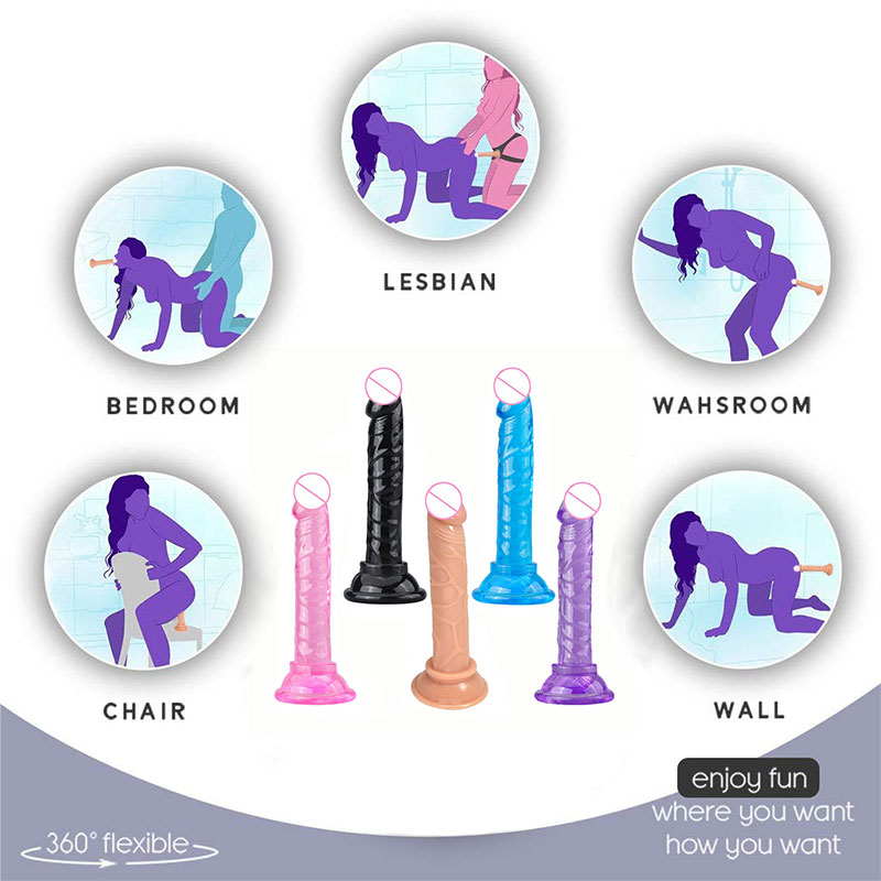 14 Cm Silicone Anal Plug Big Huge Dildo Realistic <font><b>Strapon</b></font> Suction Cup Dildos <font><b>Sex</b></font> <font><b>Toys</b></font> For Women <font><b>Adult</b></font> Erotic Woman Masturbator image