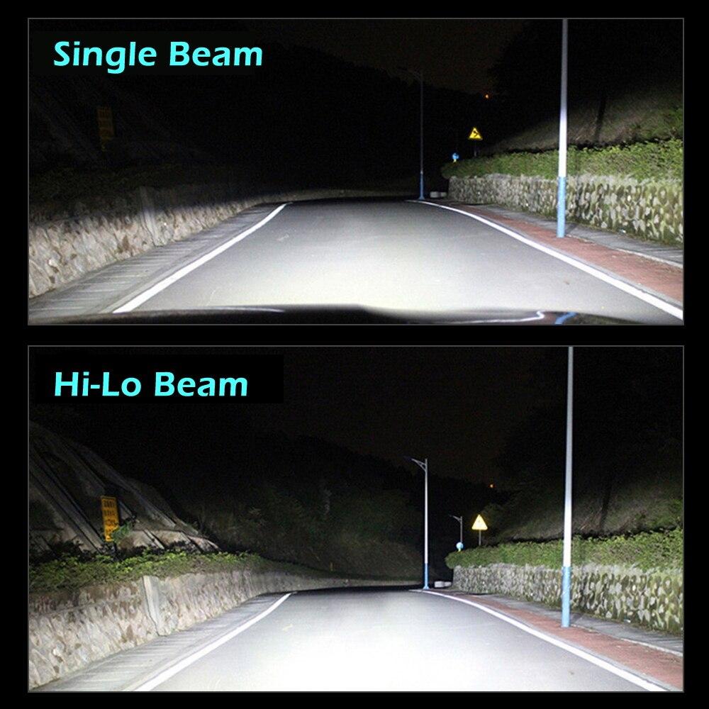 Image 5 - H7 H4 Car Truck Led Headlight Super Bright 18000LM 6500K 12V 24V Light Bulb ZES 3570 Chips H1 H11 HB3 HB4 Auto Lighting Fog LampCar Headlight Bulbs(LED)   -