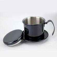 Капельный фильтр для кофе чаша из нержавеющей стали портативный