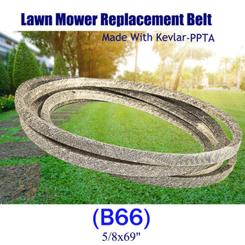 """Made with Kevlar Lawn Mower Belt 5/8""""x 69"""" 954-04001A 754-04001A For MTD Cub Cadet 954-04001 754-04001"""