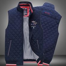 2020 Fashion Solid Color Vest Coat Winter New Men's Warm Trendy Brand Casual Male Shark Cotton Warm Jacket For Men Autumn Gilet