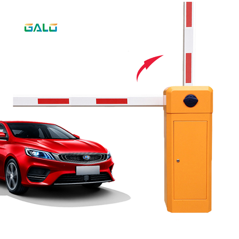 Smart Parking Lot Guardrail Gate RFID Automatic Barrier Park Square Barrier Parking Lot Barrier Barrier Gate Automatic Gate Arm