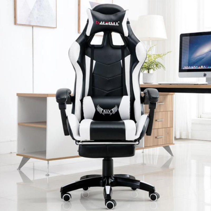 Competitive Game Computer Chair Компьютерное Кресло Professional Headrest Office Internet Lazy Lounge Chairs Home With Footrest