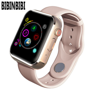 Image 1 - New KY001 Smart Watch Women big screen men Sport Fitness Bluetooth Smartwatch Phone Music player SIM TF Card for iOS Android