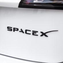 Space x Стикеры для tesla модель 3 хвост ярлык с буквами модели