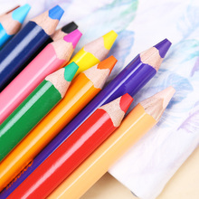 Color-Pencil-Set Painting Lapis-De-Cor Macro Graffiti Soft Kids Kawaii Safe Thick Non-Toxic