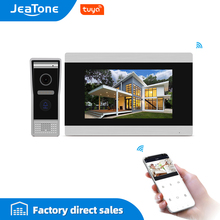 Touch Screen Wired WIFI IP Video Door Phone Intercom Video Doorbell Villa Apartment Access Control System Motion Detection