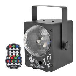 Projektor laserowy oświetlenie sceniczne led aktywowane dźwiękiem oświetlenie dyskotekowe kula świetlna|Oświetlenie sceniczne|Lampy i oświetlenie -