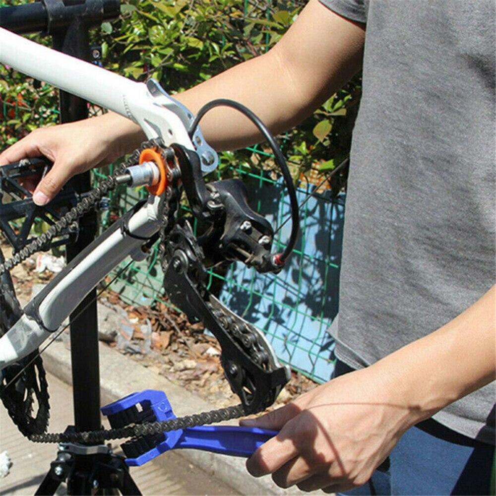 Cycling Bicycle Chain Holder Bike Dummy Hub Seizing Tool Washer Bike Tools