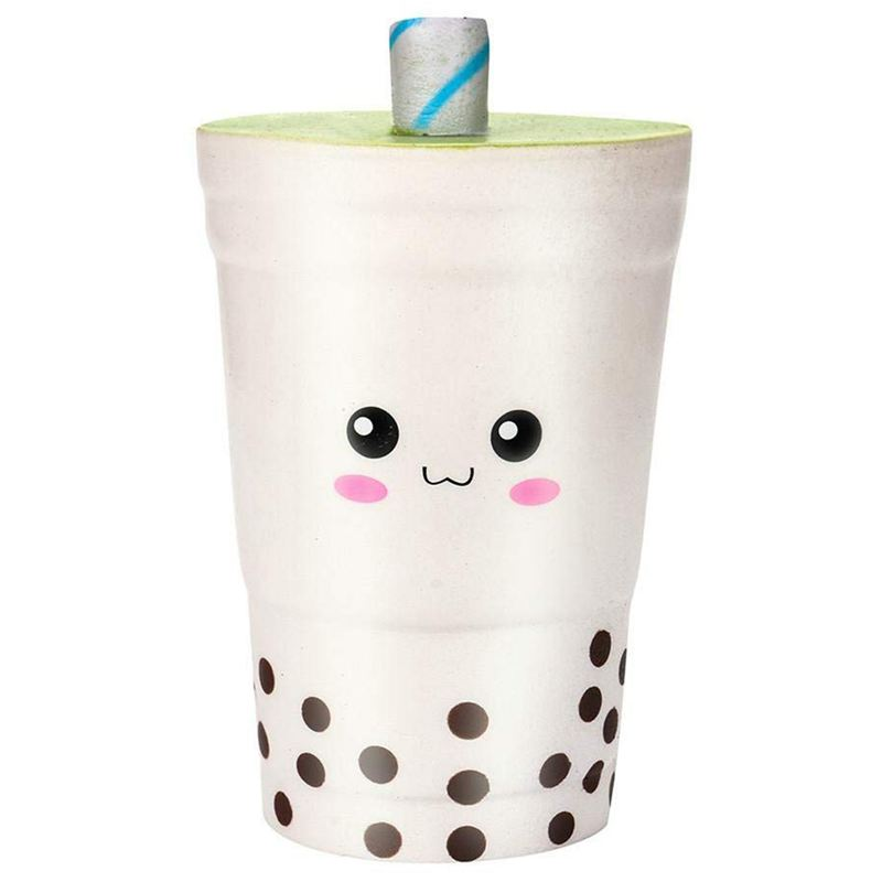 Jumbo Squishy Squishies Milk Cups Toy,Cute Milk Cups Cream Scented Squishies Slow Rising Charm Toy (Milk Cups)
