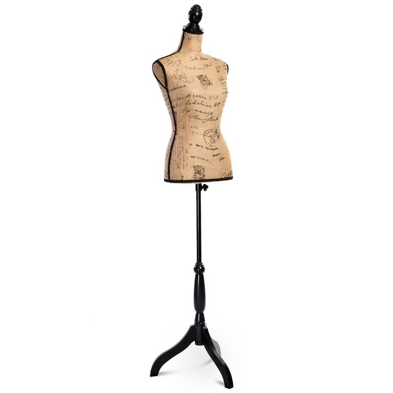 Brand New Black Metal Stand for Mannequin Torsos and Forms