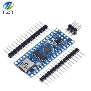 Image 5 - 10PCS Promotion Funduino Nano 3.0 Atmega328 Controller Compatible Board for Arduino Module PCB Development Board NANO V3.0