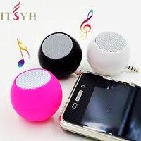 Mini altavoces portátiles con cable de 3,5mm, amplificador de reproductor MP3 para música, para teléfono, tableta, portátil, PC y LF01-006