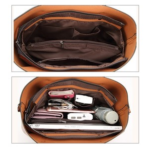 Image 5 - Herald Fashion Women Leather Handbags Ladies Large Casual Tote Bag Quality Female Shoulder Bags Bolsas Femininas Sac A Main