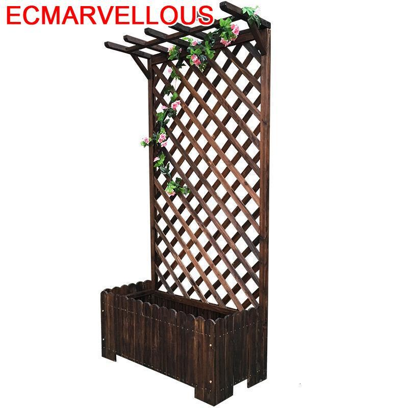 Wooden Shelves Table Balkon Estante Flores Varanda Repisa Para Plantas Indoor For Outdoor Balcony Flower Shelf Rack Plant Stand