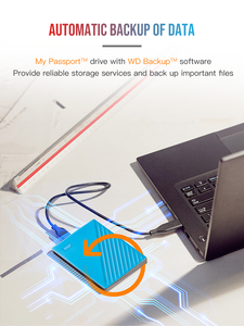 Image 5 - 大容量!!! 5テラバイトwestern digitalのwdマイパスポート外部ハードドライブusb 3.0パスワード保護のhddポータブルモバイルハードディスク