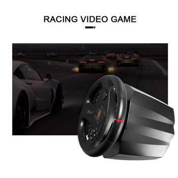 PXN V900 Game Steering Wheel for PS3 PS4 NS Switch Gaming Controller for  PC USB Vibration Dual Motor with Foldable Peda 3